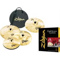 Zildjian A Custom Set Platillos Sabian Meinl Paiste Istanbul