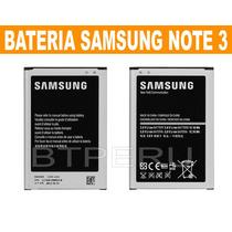 Bateria Samsung Galaxy Note 3 N900 N9000 3g 4g Original