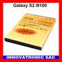 Bateria Gold Alta Capacidad Para Galaxy S2 I9100