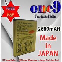 Pedido Bateria Sony Ericsson Bst-33 Satio De 2680mah