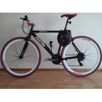 Bicicleta Tipo Fixie Con Cambios Shimano. Aro 700
