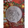 Moneda Plata Fina 9999 Santa Claus Papa Noel Navidad Unica !