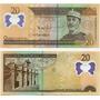 República Dominicana 20 Pesos Polímero Completamente Nuevo
