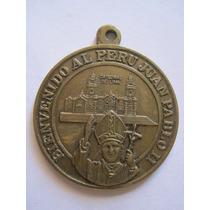Antigua Medalla Juan Pablo Ii Homenaje De La Fap.