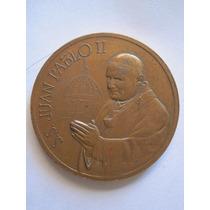 Medalla Juan Pablo Ii Por Su Visita A La República De Perú.