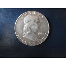1/2 Medio Dolar De Plata De 9 Decimos Moneda Americana Usa