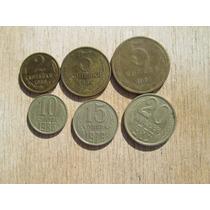 Rusia Lote De 14 Monedas