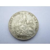 Moneda Un 1 Sol De Plata De 5 Decimos Varios Años