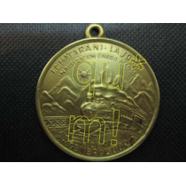 Medalla Antigua Inauguracion Ferrocarril Matarani 1951