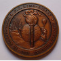 Medalla Ferrocarril Lima Callao Congreso Tren Peru 1978 Xzx