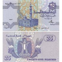 Egipto 25 Piastres Completamente Nuevo