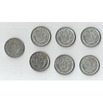 Yh 7 Antiguas Monedas De Un Centavo Años 1957 Al 1961 Cambio