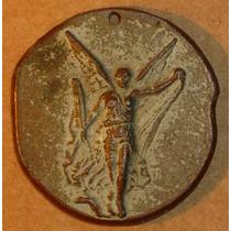 Antigua Medalla Olimpica Griega - Olimpadas - Deportes