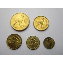 Monedas Un Sol De Oro - Serie Completa - Llamitas Perú