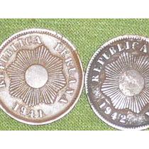 Dos Monedas De Un Centavo