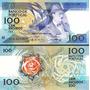 Billete De 100 Escudos De Portugal. Nuevo. Unc. Año Variable