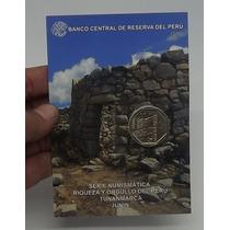 Peru Blister Moneda Un Nuevo Sol Tunanmarca Junin # 15