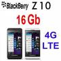 Blackberry Z10 16gb Stl 100-3 4g Lte 3g 8mp Nuevo Libre +4