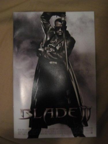 Blade Revista Original Marvel Con Fotos De La Pelicula