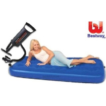 Oferton!!! Colchon Inflable 1 Plaza + 1 Almohad +01 Inflador
