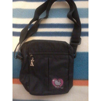 Bolso Hello Kitty Negro Original