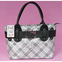 Cartera Hello Kitty Escosesa - En Stock