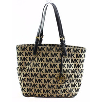 Cartera Michael Kors Jet Set Monogram Signature Logo Nueva