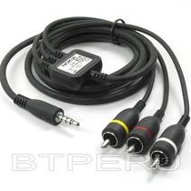 Cable Audio Video Av Tv Out Nokia N900 N97 N95-3 Mini Ca-75u