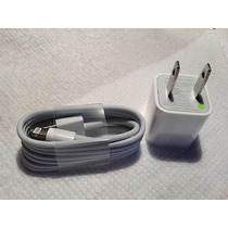 Cable De Datos + Cargador Original Apple 100% Nuevo 5,5s,5c