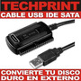 Cable Usb Ide Sata Conversor Disco Duro Externo Pc Laptop