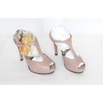 Zapatos Cuero Milano Bags Color Malva