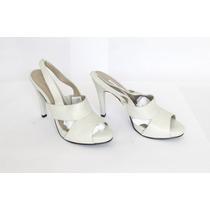 Zapatos Blancos De Cuero Milano Bags