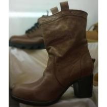Botas Mujer Calzado Cuero Zapatos Harley, Urbans Texans