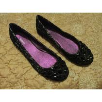 Zapatos De Encaje Y Piedras Modelo Princesa Talla 71/2 Damas