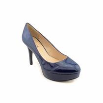 Guess Zapatos Talla 7.5 Charol Azul