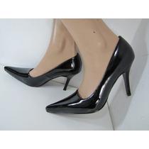 Zapatos Charol Negros Tallas 35 Al 40 Envío Gratis...¡¡¡