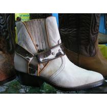 Botas Piel Becerro Hombre, Calzado Texanos Zapatos Exotics