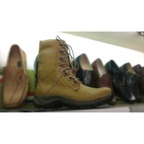 Borceguie Seguridad Calzado Militar, Serenazgo Zapatos Cuero