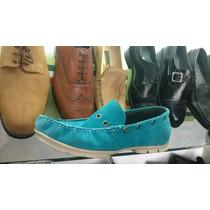 Mocasines Hombre Gamuzon Calzado Vestir Cuero Zapatos, Botas