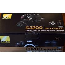 Nikon D3200 18-55mm Vr Ii 24.2mp 100% Nueva Remate!!, Boleta
