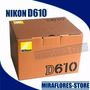 Cámara Nikon D610 Fx 24.3mp Full Hd Cuerpo