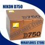 Cámara Nikon D750 Fx-sensor 24.3mp Full Frame Solo Cuerpo
