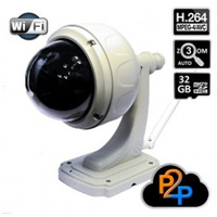 Camara Ip Hd Wifi Dvr Ptz Zoom Optico X3 Nocturna Exteriores
