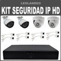 Kit De Seguridad Video Vigilancia Ip Hd P2p Onvif