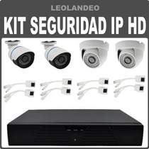 Kit De Seguridad Video Vigilancia Ip Hd P2p Onvif