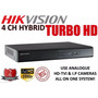 Dvr 4 Canales Metal Hd Hikvision -dahua - Hagroy Cctv-oferta