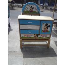 Cama Cuna 1 1/2 Mickey S/ 459.00