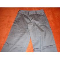 Pantalon De Vestir Dama Talla 26 A 28 Color Gris A Verde Osc