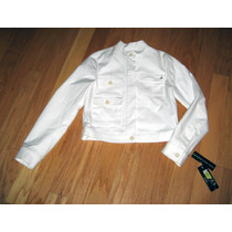 Casaca Ralph Lauren Blanco Chaqueta Jacket Dama S O M -stock