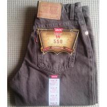 Pantalón Levis 505 Relax Fit, Mujer 14 Onzas Marrón 28 X 30